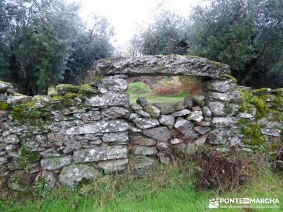 Senda Viriato; Sierra San Vicente; monasterio del paular rascafria casa del bosque cercedilla las de